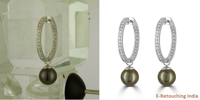 Jewellery Product Image Editing Service