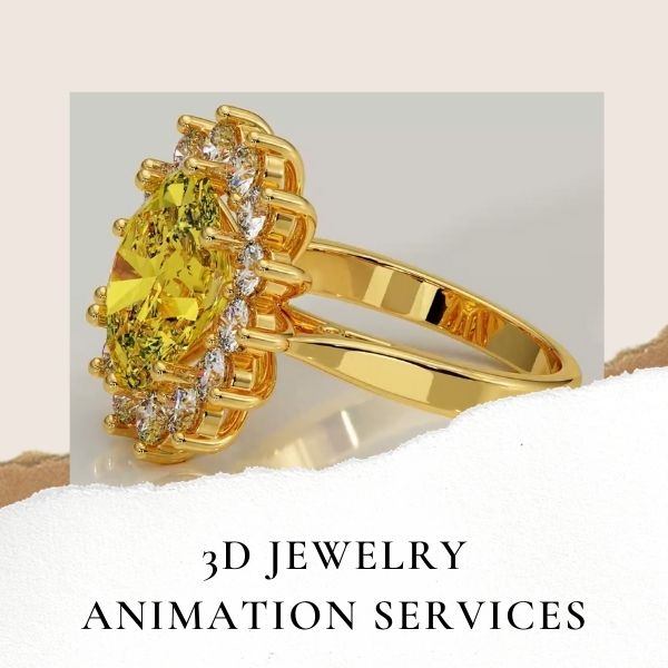 3D Jewelry Animation Services